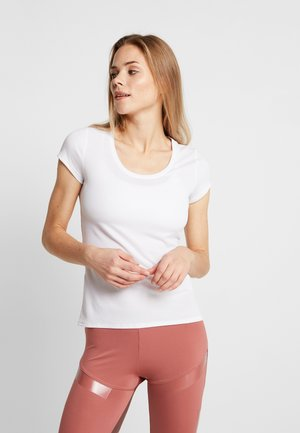 CREW NECK ACTIVE F-DRY LIGHT - Jednoduché triko - white