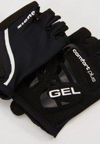 Ziener - CELAL - Kortfingerhandsker - black - 3