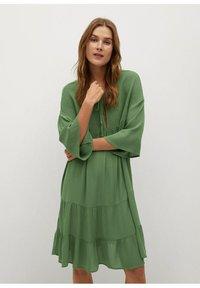Mango - BAMBU-H - Sukienka letnia - green - 0