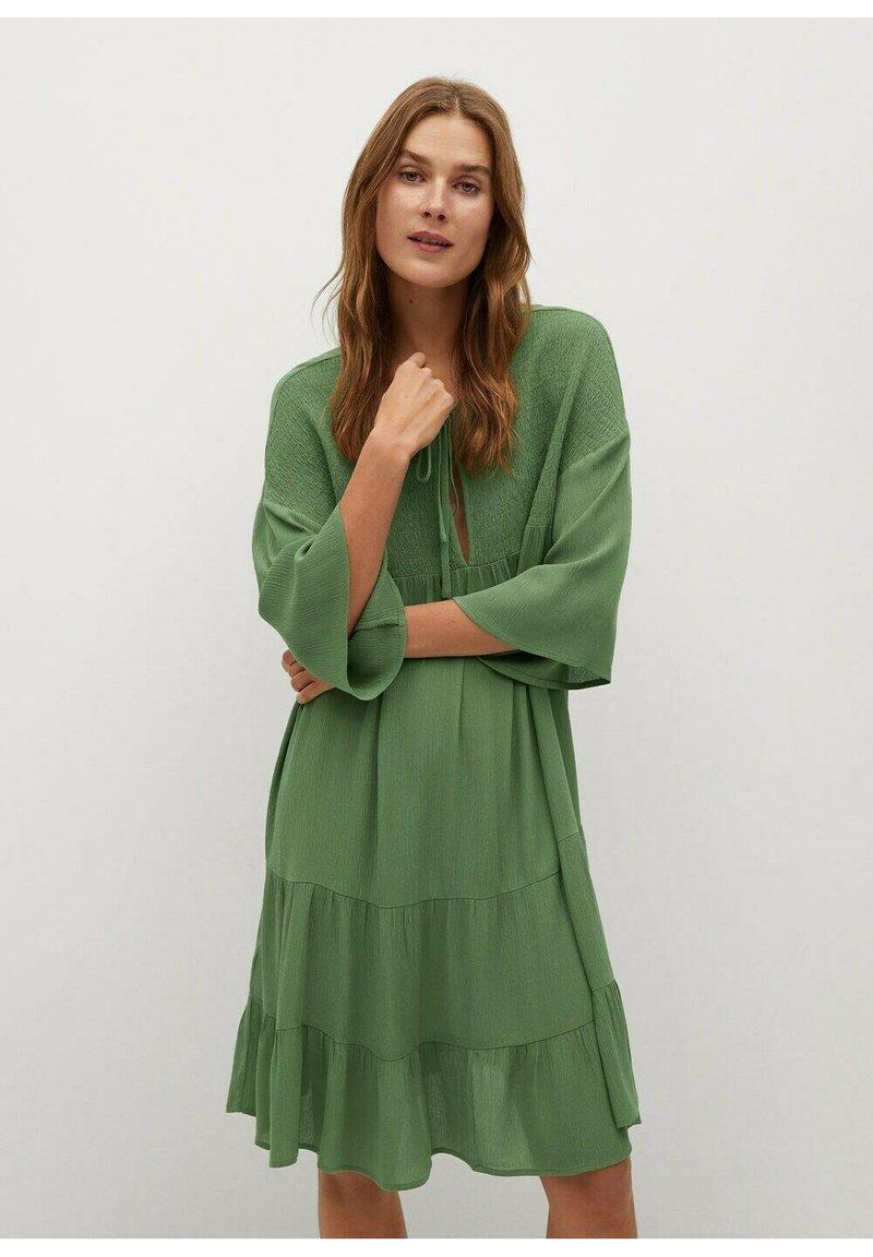 Mango - BAMBU-H - Sukienka letnia - green