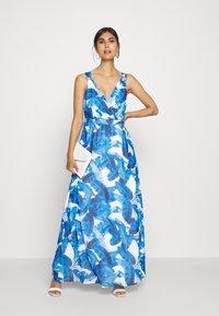 comma - Maxi dress - blue - 1