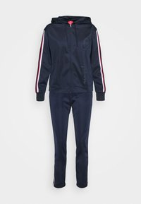 Champion - HOODED FULL ZIP SUIT LEGACY - Tracksuit - dark blue - 7
