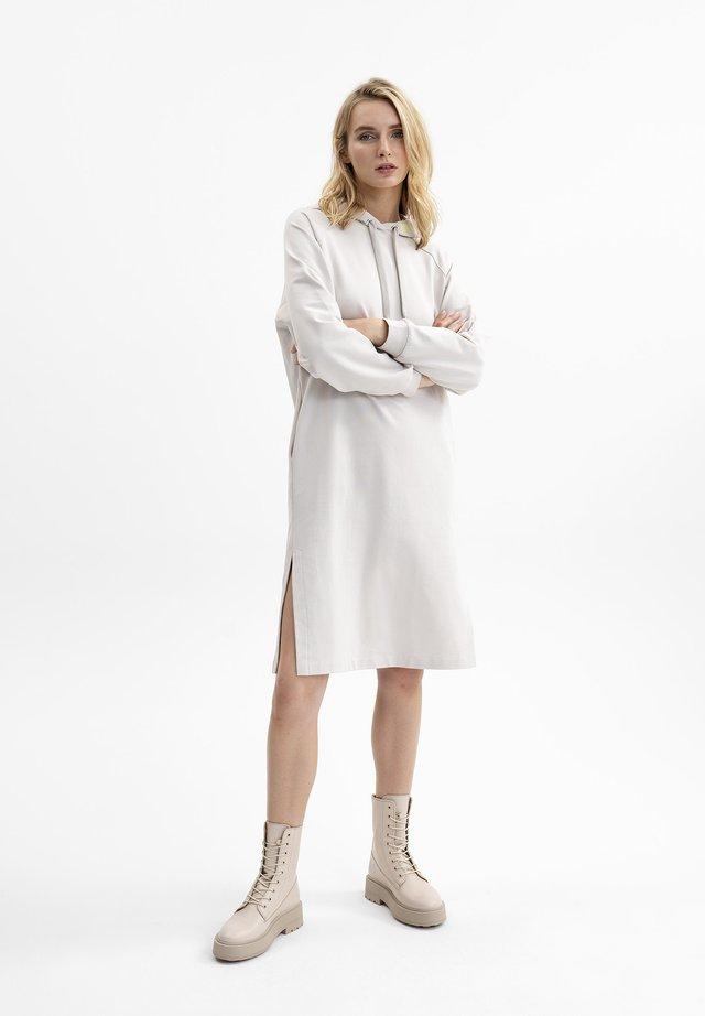 Jersey dress - creme