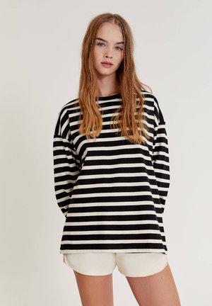Longsleeve - black, white
