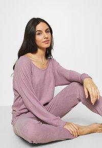 GAP - FOLDOVER  - Pyjamabroek - elderberry - 3