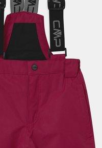 CMP - SALOPETTE UNISEX - Spodnie narciarskie - magenta - 2