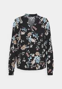Vero Moda - VMNADS ROME - Blouse - black/billie - 5