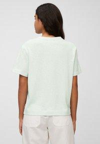 Marc O'Polo DENIM - Basic T-shirt - blue glow - 2