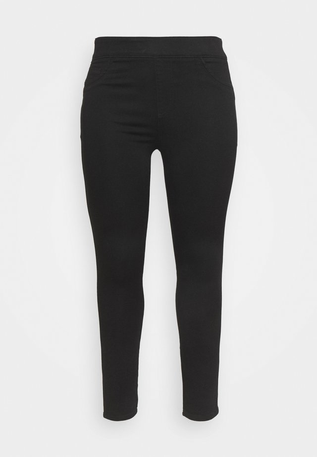 SCULPTING SKINNY JEGGINGS - Jeans Skinny Fit - black