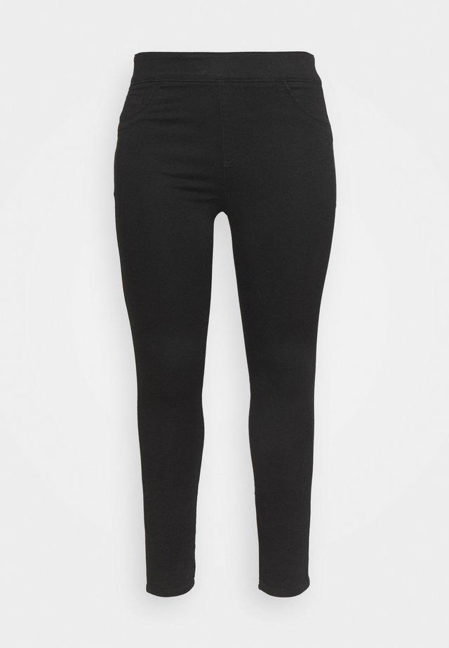 SCULPTING SKINNY JEGGINGS - Jeans Skinny - black
