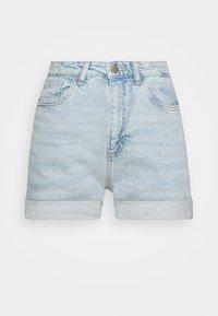 HIGH RISE CLASSIC STRETCH - Shorts di jeans - light blue denim