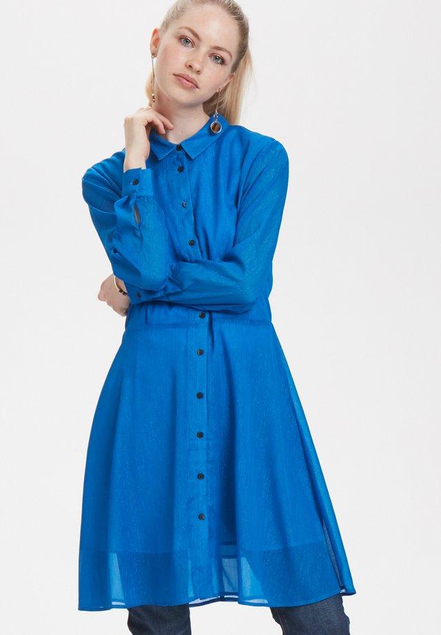 Shirt dress - victoria blue