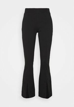 ONLCIANA FLARED PANTS - Bukse - black