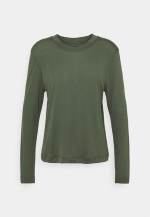 EASE CREW NECK - T-shirt à manches longues - northern green