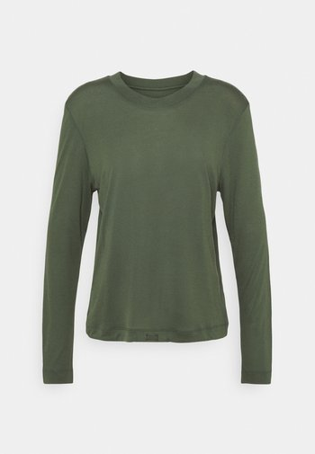 EASE CREW NECK - Top sdlouhým rukávem - northern green