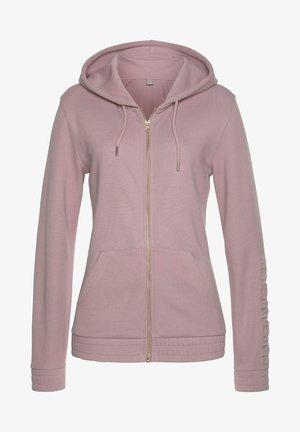 Zip-up hoodie - altrosa