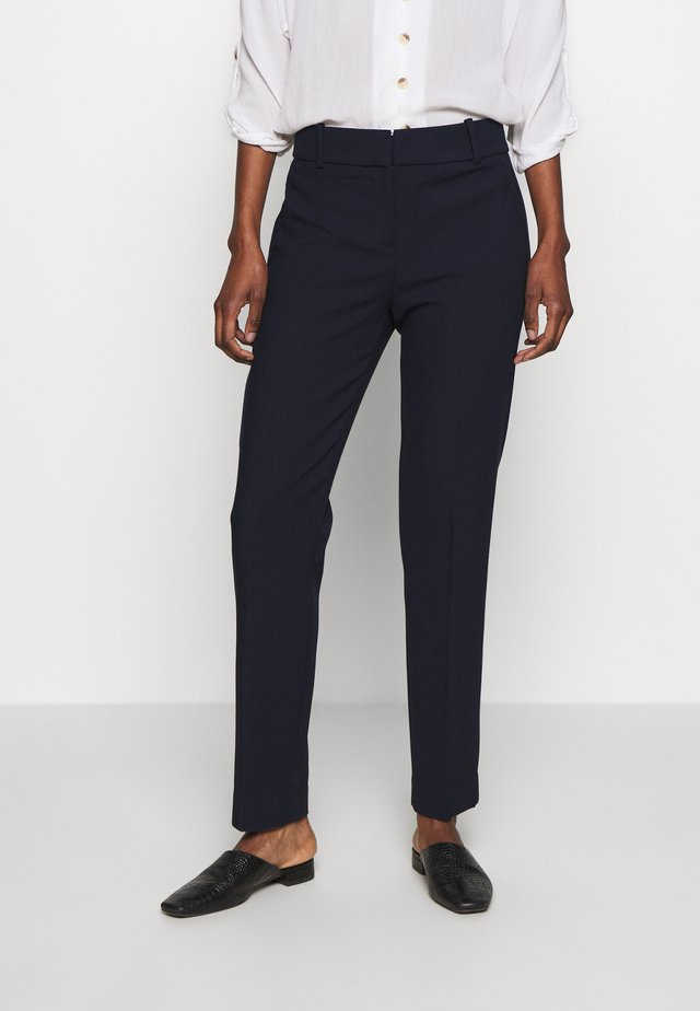 CAMERON PANT IN STRETCH - Pantalon classique - navy