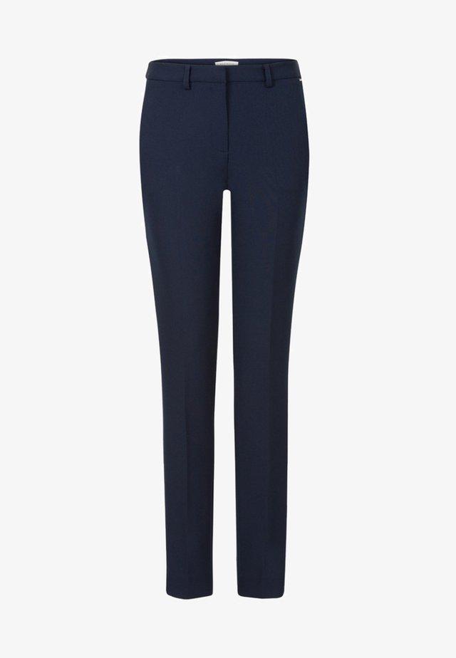 PAT LONG - Trousers - dark blue