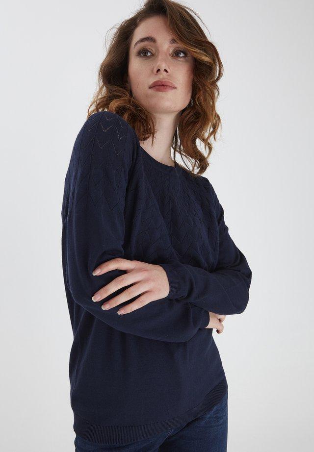FRPEGANIC  - Sweter - navy blazer