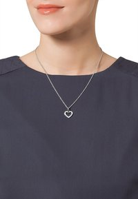 JETTE - SACRED HEART - Necklace - silver-colored - 0