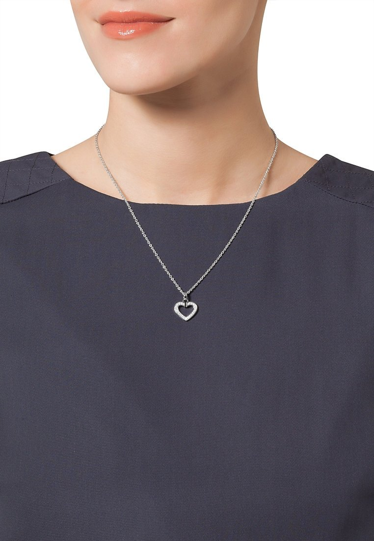 JETTE - SACRED HEART - Necklace - silver-colored