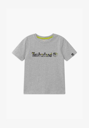 SHORT SLEEVES TEE CAPSULE - Triko s potiskem - grey