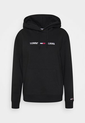 LINEAR LOGO - Sweat à capuche - black