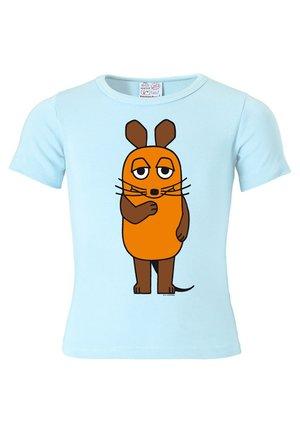 MIT DER MAUS - Print T-shirt - hellblau