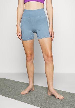 SEAMFREE BIKE SHORT - Legging - copen blue