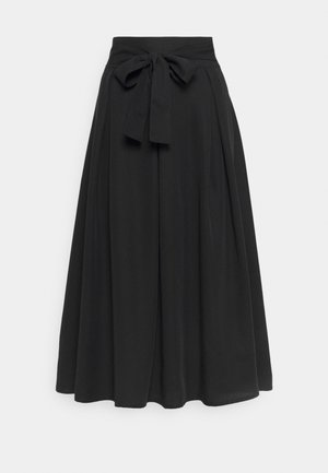 SKIRT - A-line skirt - pitch black