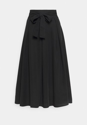 SKIRT - A-line skirt - pitch black