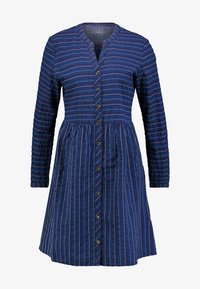 edc by Esprit - STRIPE - Day dress - blue medium wash - 5