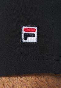 Fila - STEPHAN - Korte broeken - black - 6