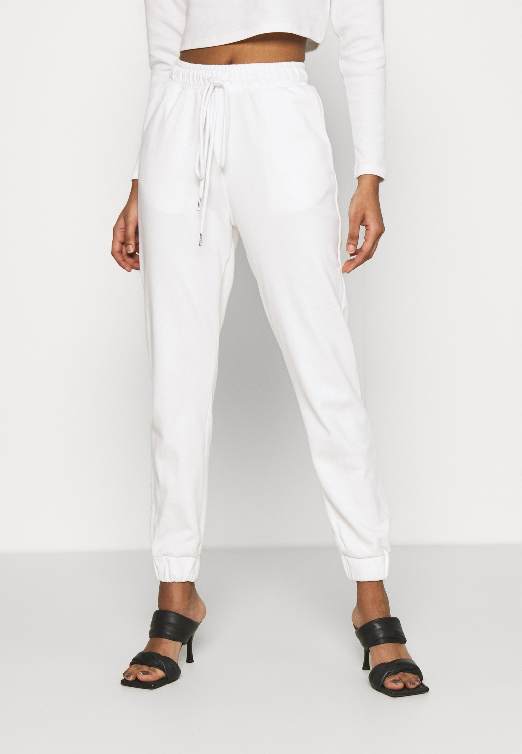 Women TED TROUSERS WITH FRONT TIE DETAIL - Tracksuit bottoms