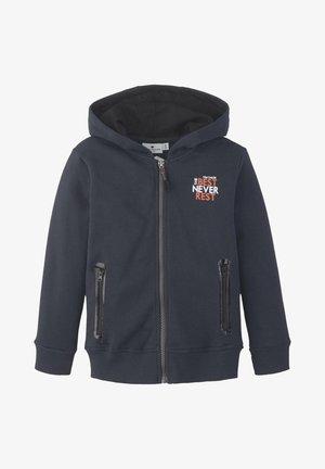 Zip-up hoodie - dark navy|blue