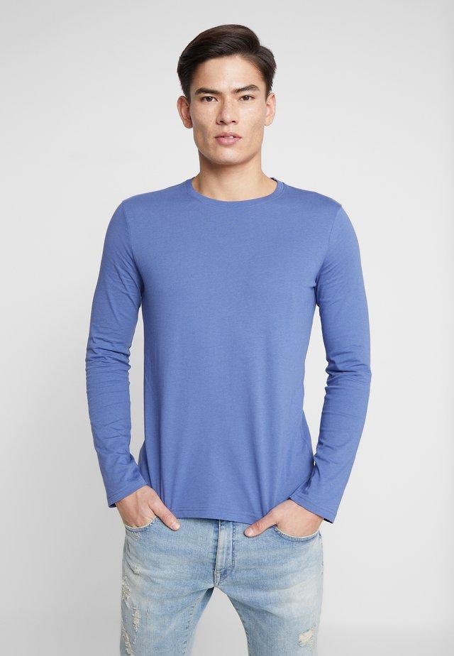 BASIC CREW NECK - Longsleeve - blue