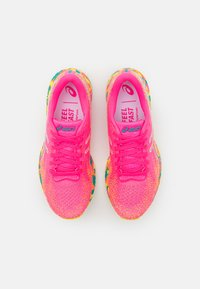 ASICS - GEL-DS 26 NOOSA - Competition running shoes - hot pink/sour yuzu - 3
