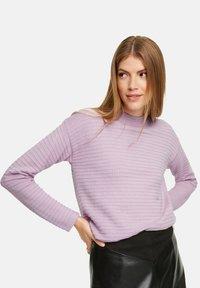 comma casual identity - Jumper - light lilac - 3