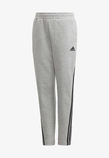 3-STREIFEN DOUBLEKNIT TAPERED LEG HOSE - Trousers - grey