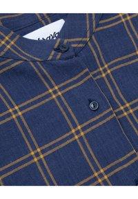Brava Fabrics - WOODCUTTER ESSENTIAL - Button-down blouse - blue - 5