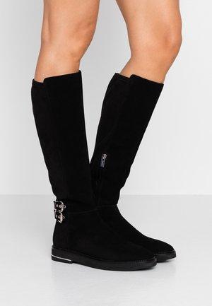 LENA - Vysoká obuv - black