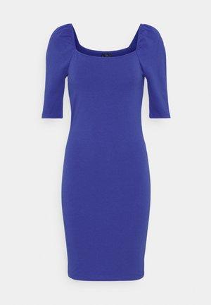 VMGLORIA SHORT DRESS - Jersey dress - dazzling blue