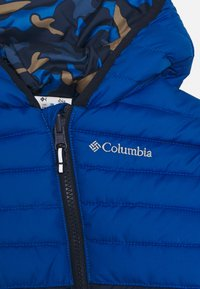 Columbia - POWDER LITEREVERSIBLE BUNTING - Snowsuit - coll navy/bright indigo/night tide - 4
