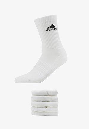 CUSH 6 PACK - Skarpety sportowe - white