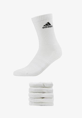 CUSH 6 PACK - Calcetines de deporte - white
