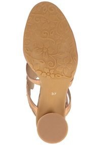 LAURA VITA - Sandalen met hoge hak - beige - 5