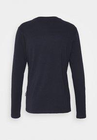 Napapijri - SEBEL - T-shirt à manches longues - blu marine - 1