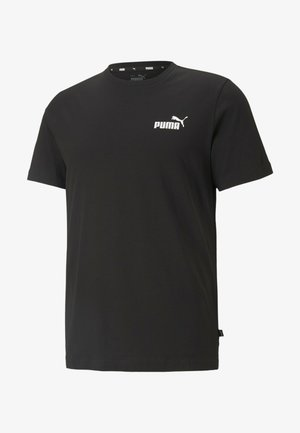 ESS SMALL LOGO TEE - T-shirt basique - mottled anthracite