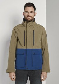 TOM TAILOR - Summer jacket - olive - 0