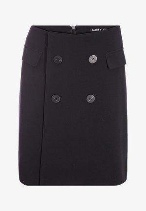 Wrap skirt - gris foncé